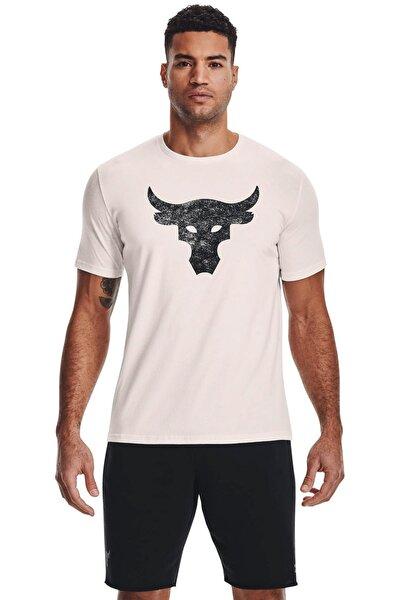 Erkek Spor T-Shirt - UA Pjt Rock Brahma Bull SS - 1361733-112
