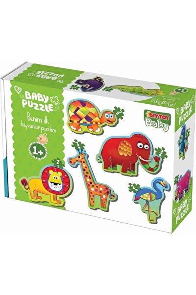 Bebek Puzzle Ilk Orman Hayvanları Seti