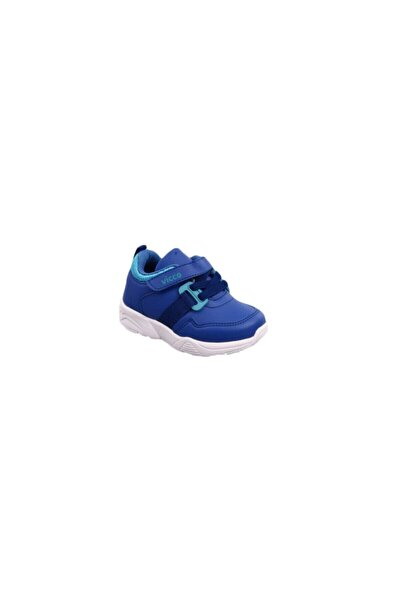 Unisex Çocuk Saks Mavi Spor Ayakkabı 9k 346.b19k.154