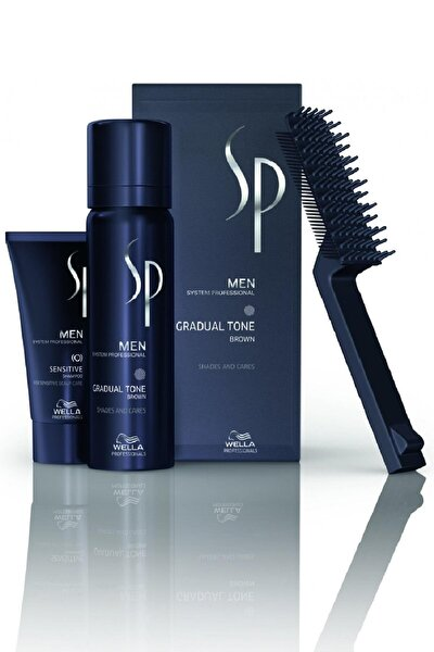 Sp Men Gradual Tone Pigment Mousse Kahverengi 60 ml 8005610581385