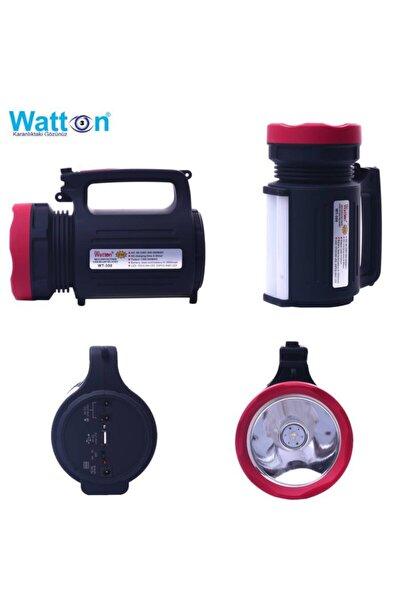 Black Wt-350 Çift Yönlü Projektör Şarjlı Işıldak