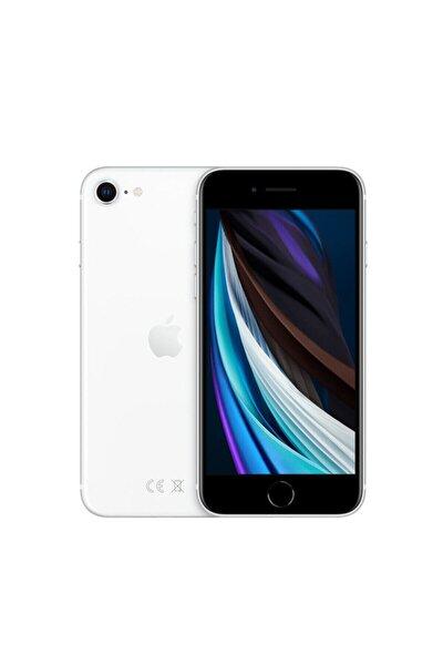 iPhone SE 64GB Beyaz Cep Telefonu (Apple Türkiye Garantili) Aksesuarsız Kutu