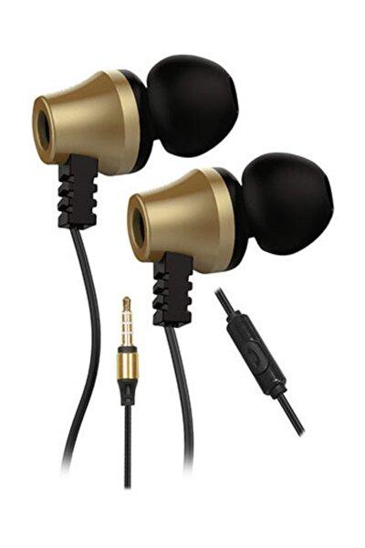 SN-J02 Thunderbird Mobil Telefon Uyumlu Taşıma Çantalı Kulak içi Siyah/Gold Mikrofonlu Kulaklı