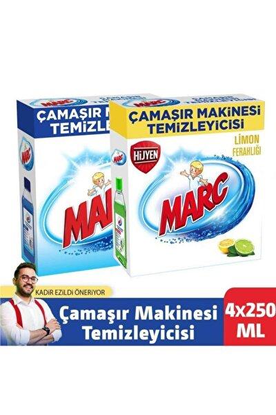 Çamaşır Makinesi Temizleyici Regular + Limon Ferahlığı 4x250 Ml