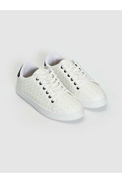 Mickey Mouse Kadın Beyaz J5E Sneaker