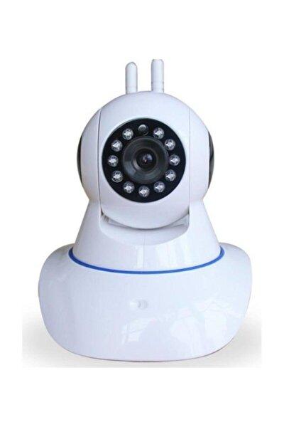 Hd 360 Derece Hareket Sensörlü Ip Bebek Ve Güvenlik Kamerası