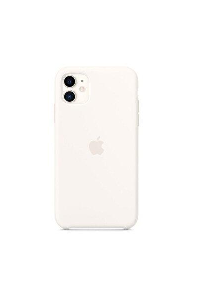Iphone11 Beyaz Silikon Kılıf Uyumlu