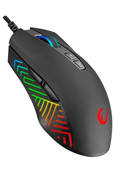 Sharper 12400 Dpı Pmw3327 Profesyonel Sensör Rgb Gaming Oyuncu Mouse