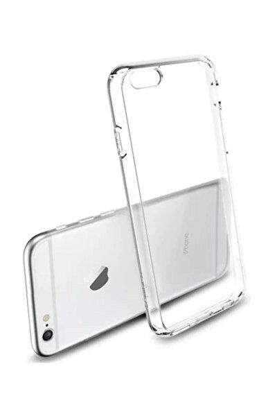 Apple Iphone 6s Plus Kılıf Tam Şeffaf Silikon Transparan