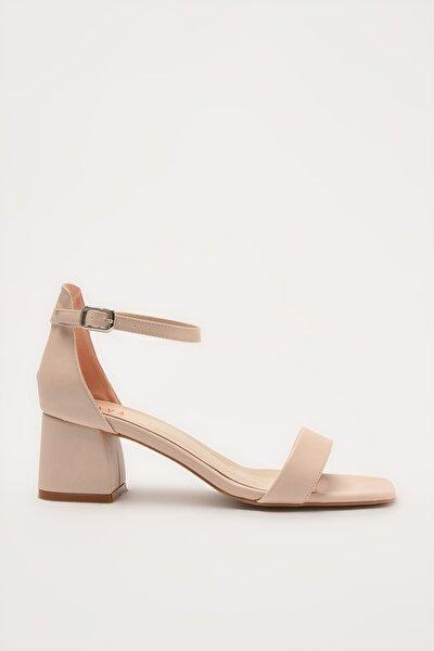 Bej Kadın Sandalet 01SAY214620A310