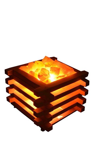Kasa Modeli Tuz Lambası Himalaya Tuz Lambası Kristal Tuz Gece Tuz Lambası