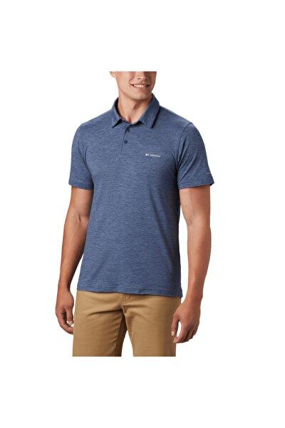 Erkek Mavi Polo Yaka Kısa Kollu T Shirt Ao2933 479