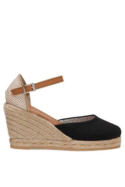 ARTEMISIA 1FX Siyah Kadın Dolgu Topuklu Sandalet 101017831
