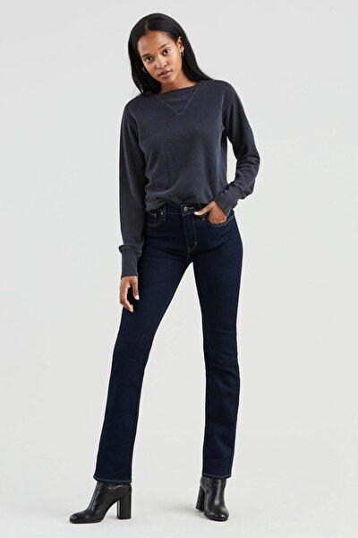 Kadın Lacivert 724 High Rise Straight Jeans 18883-0015