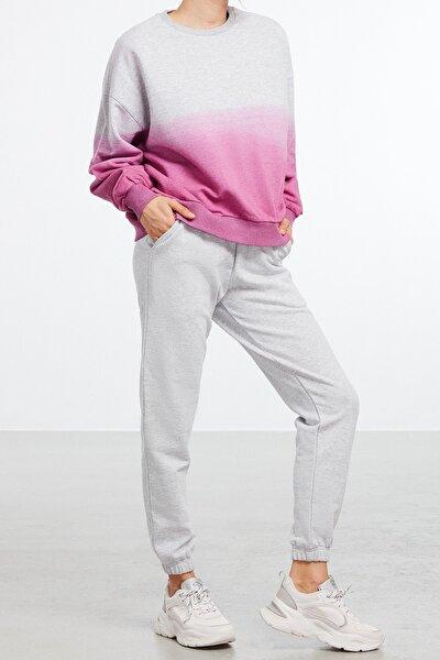 MAJA Kadın Pembe Yıkamalı Batik Eşofman Takımı