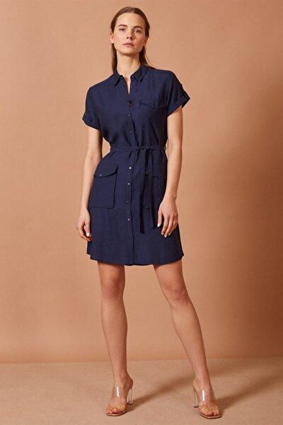 Gömlek Mini Elbise