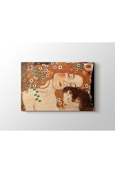 Gustav Klimt - Mother And Child Tablo 60 X 80 Cm