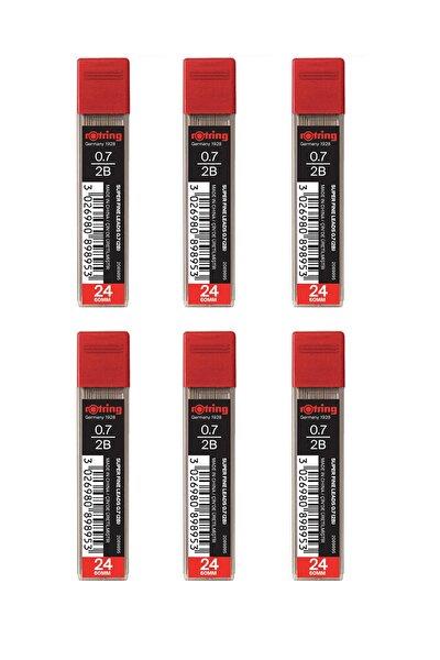 0.7 Kalem Ucu 2b Super Polimer (2089895) 6 Lı Paket