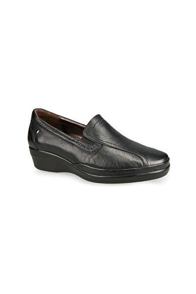 9920 Hakiki Deri Siyah Ayakkabı