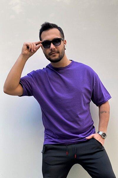 Erkek Oversize Basic T-shirt