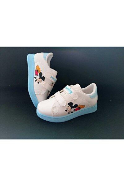 Çocuk Mavi Mickey Spor Ayakkabı