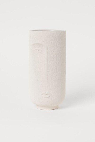 Yüz Figürlü Dekoratif Vazo