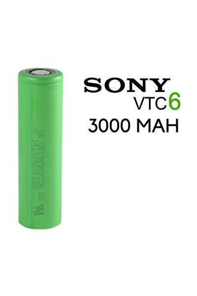 Vtc6 18650 3.7v 3000 Mah Li-ion Şarjlı Pil