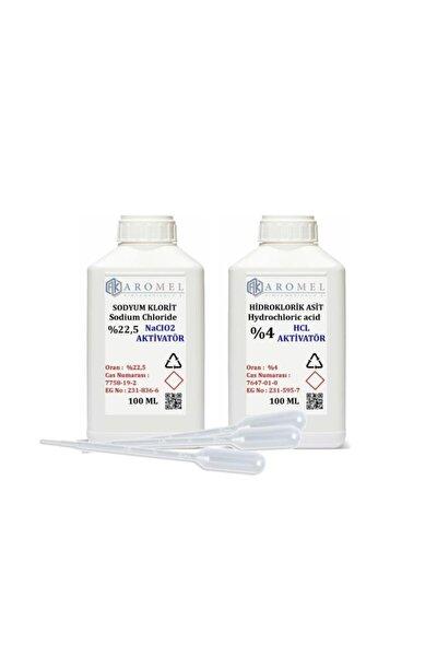Mms Set | %4 Hidroklorik Asit | %22,5 Sodyum Klorit 100 Er ml Set