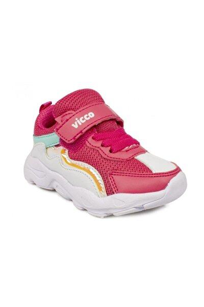 346.B20Y.205-07 Fuşya Kız Çocuk Yürüyüş Ayakkabısı 100576748