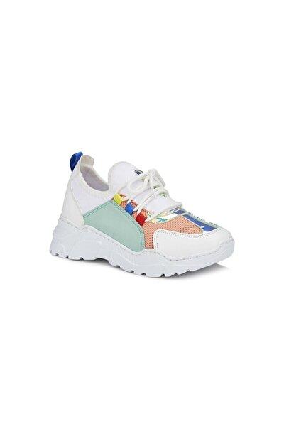 Ruba Spor Ayakkabı Beyaz/yeşil