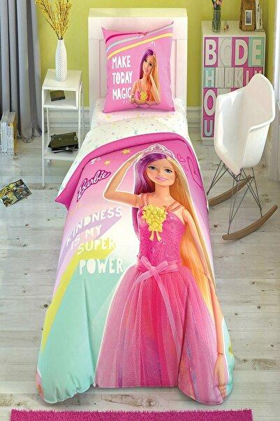 Lisanslı Tek Kişilik Nevresim Takımı Barbie Kindness Glow