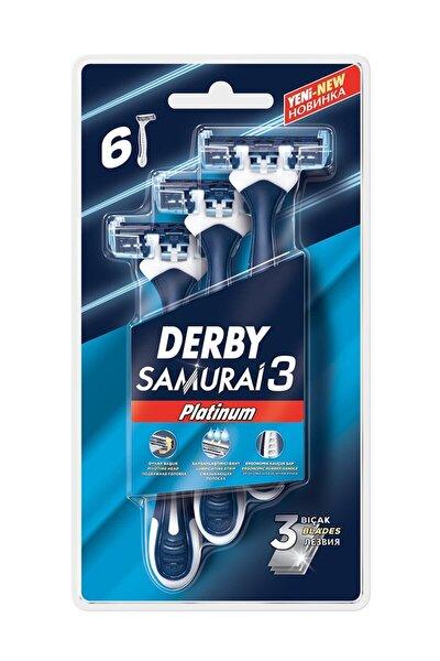 Samurai Platinum 3 Blister 6'lı
