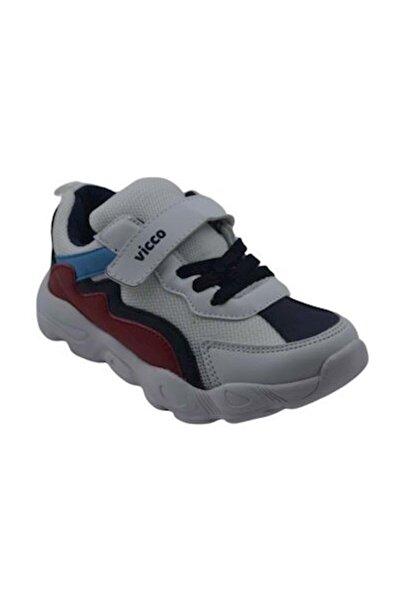 346.P20Y.205 Beyaz Erkek Çocuk Koşu Ayakkabısı 100578803