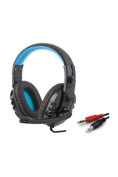 Pg6960 Oyun Kulaklığı Gaming Headphone Mikrofonlu Pc Kulaklık Mavi