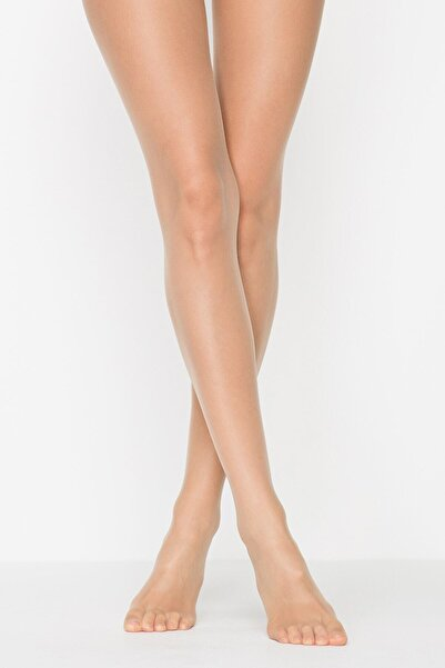Kadın Bugday Ten Fit 15 Külotlu Çorap