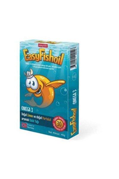 Easy Fish Oil Omega 3 30 Jel Tablet Balık Yağı