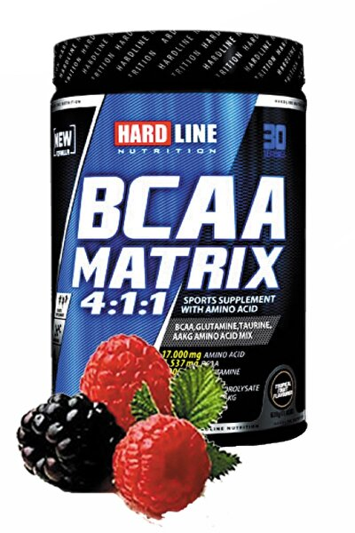Bcaa Matrix Böğürtlen Aroma 630gr Bcaa Aminoasit Kas Geliştirici Kuvvet Artırıcı