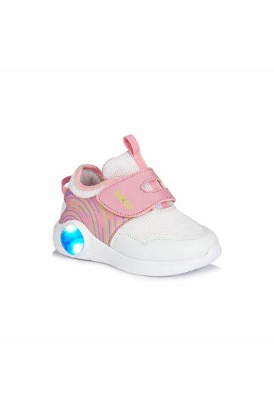 Kız Çocuk Beyaz/pembe Spor Ayakkabı (346.p20y.213-1106)