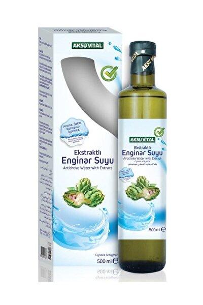 Aksuvital - Ekstraktlı Enginar Suyu 500 ml. %100 Doğal