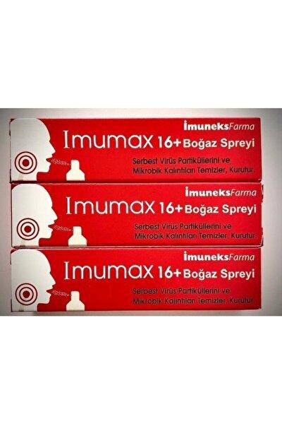 Imumax Boğaz Spreyi+16 30 Ml*3 Adet Skt:03.2023