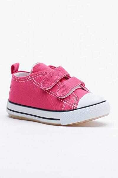 Fuşya Çocuk Spor Ayakkabı Cırtlı Tb997