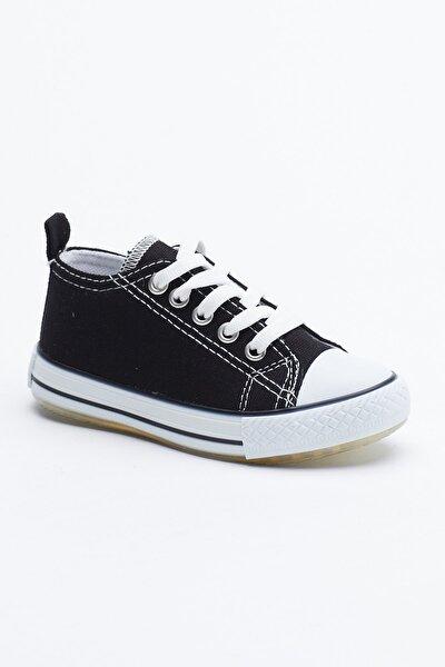 Siyah Çocuk Spor Ayakkabı Tb998