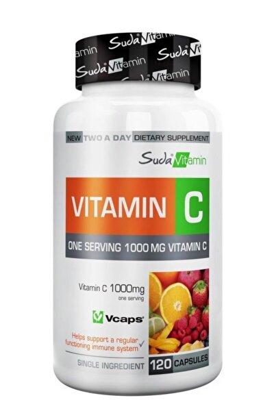 Suda Vitamin Vitamin C 1000mg 120 Bitkisel Kapsül
