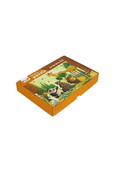 Ormanda Yer 24 Parça Puzzle 30006