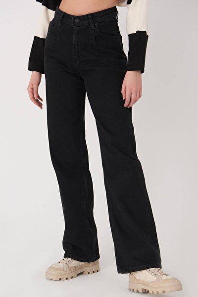 Kadın Füme Cep Detaylı Jean Pantolon Pn7085 - Pnj ADX-0000023657