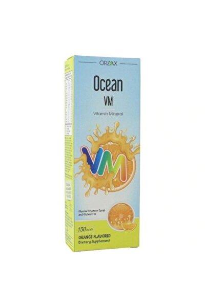Vm Portakal Aromalı Şurup 150 ml