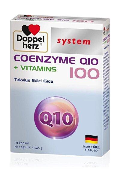 Koenzim Q10 + Vitamins 100 Mg 30 Kapsül