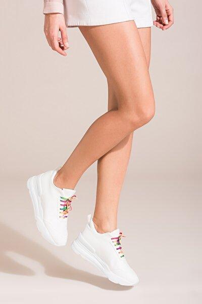 Beyaz Kadın Ayakkabı B267945509