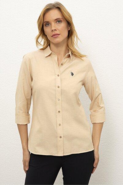 Kahverengı Kadın Dokuma Gömlek G082Gl004.000.1261820