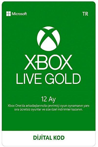 Xbox Live Gold 12 Aylık (Konsol)